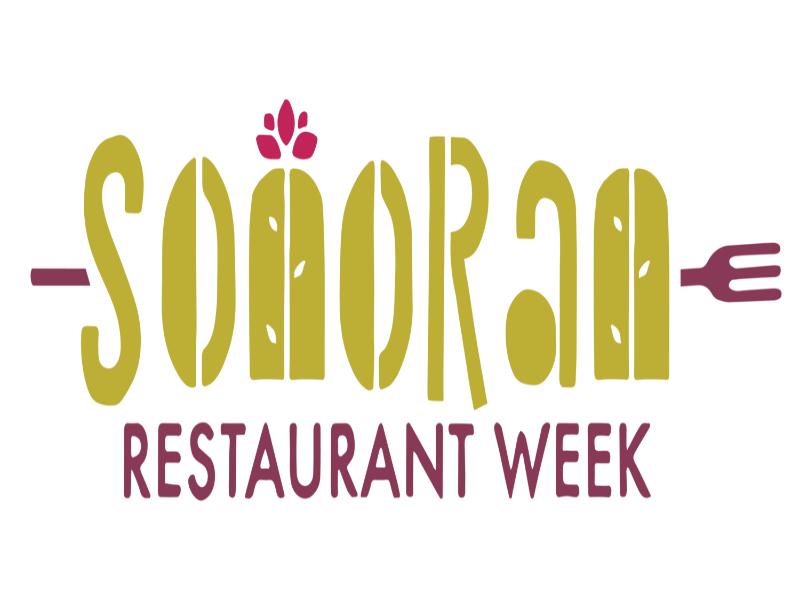 Graphic of Sonoran Restaurant Week logo