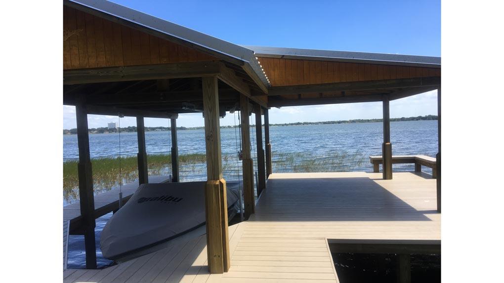 dock with arbor photo