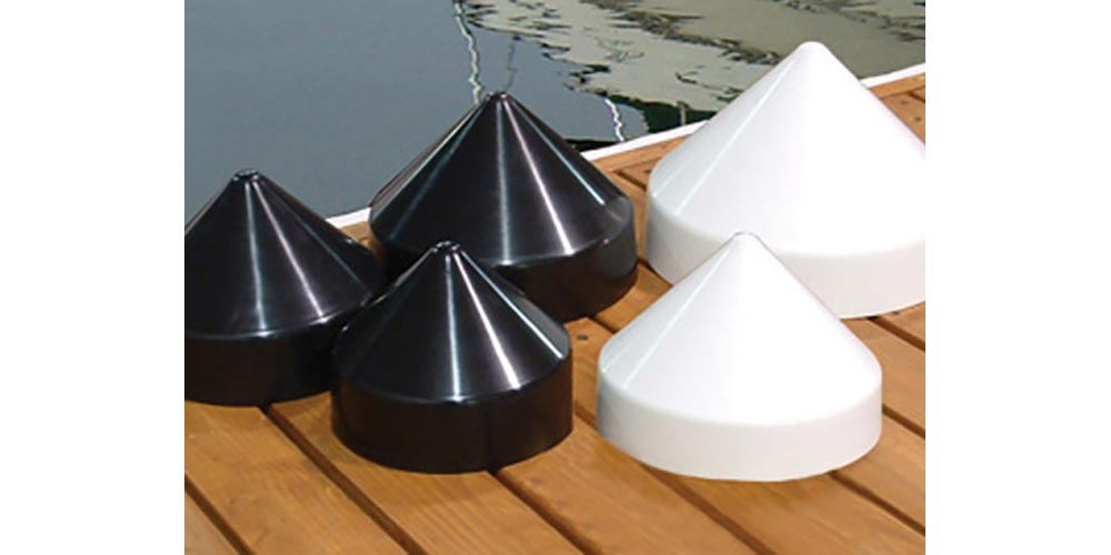Photo of stanchion cap accessories