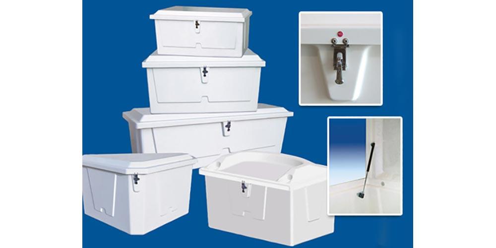 Photo of storage for use on docks/decks