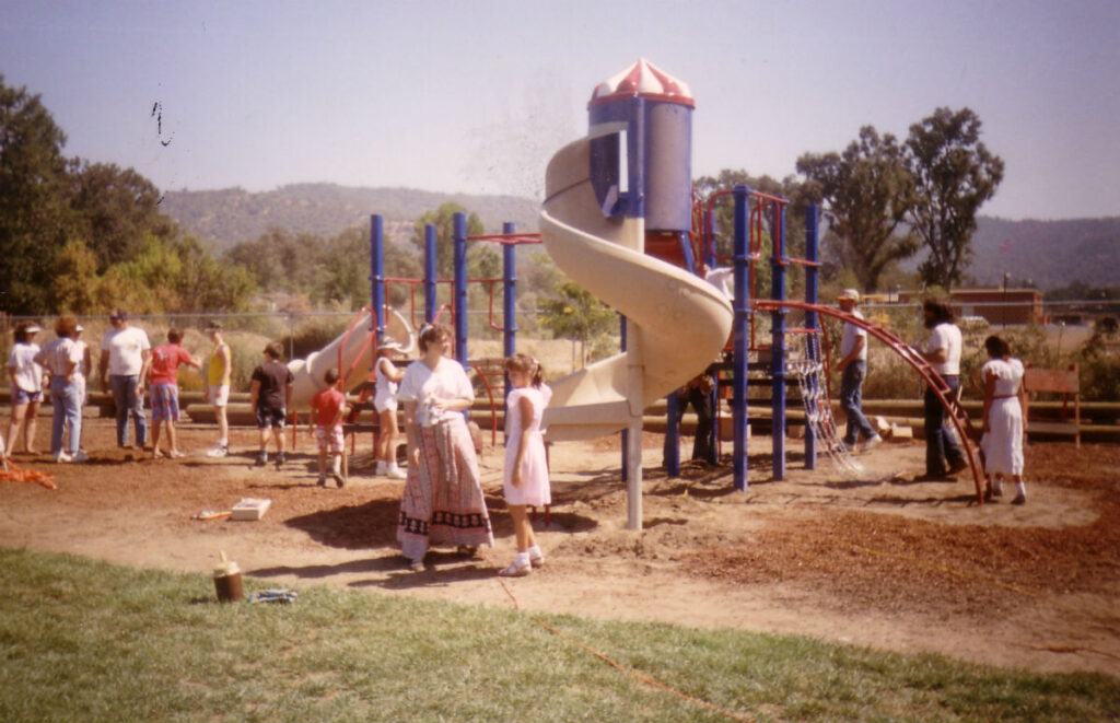 Installation of Playground Equipment (1989)