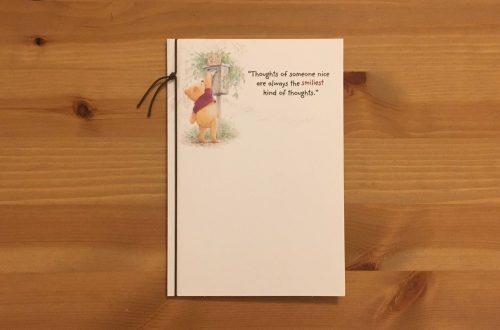 Winnie The Pooh Card