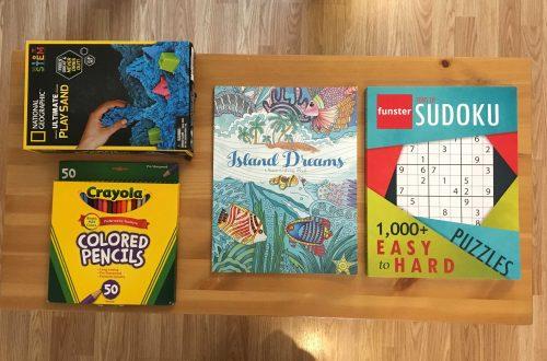 Play Sand, Sudoku, Coloring