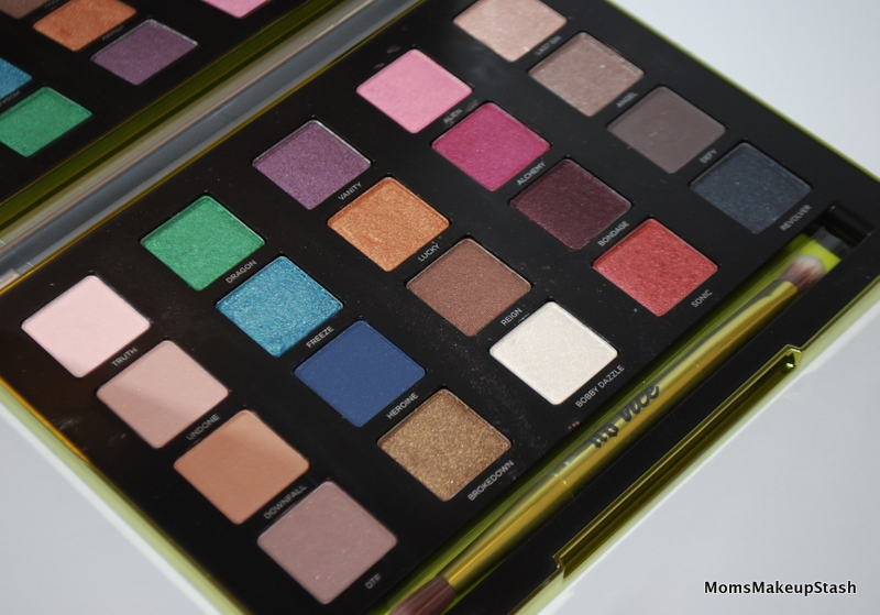Urban Decay VICE Palette Inside