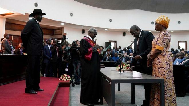 Sudan y'Epfo: Hatewe intambwe y'amahoro, Salvaa Kiir na Riek Machar bumvikanye