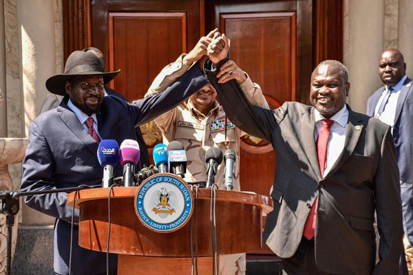 S.Sudan: Riek Machar yashyize yemera kongera kuba V/Perezida wa Salva Kiir