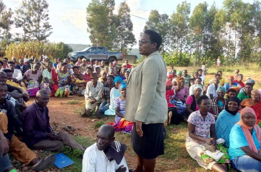 Kamonyi: Abakemurirwa ibibazo mu nteko z'abaturage bataha banyuzwe amakimbirane agahunga