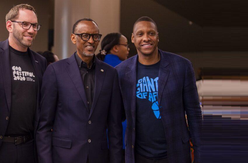 Masai ngo urukundo akunda P.Kagame rwatumye azana Giants of Africa Festival mu Rwanda