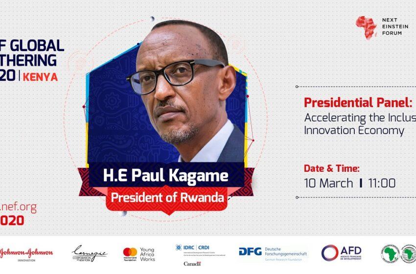 P.Kagame na Kenyatta bazatanga ikiganiro mu nama y'Ubumenyi buhanitse muri Kenya