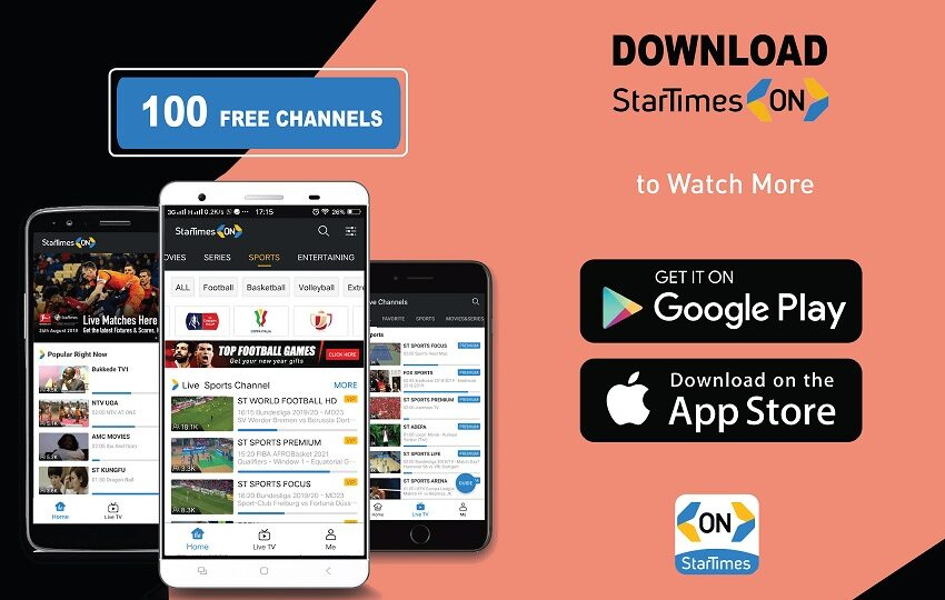 StarTimes offers the most free channels (over 100) on StarTimes ON to its viewers in Africa during Covid-19 pandemic