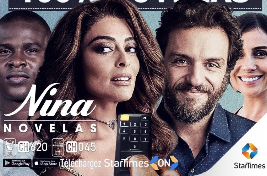 Nina Novelas joins StarTimes platform