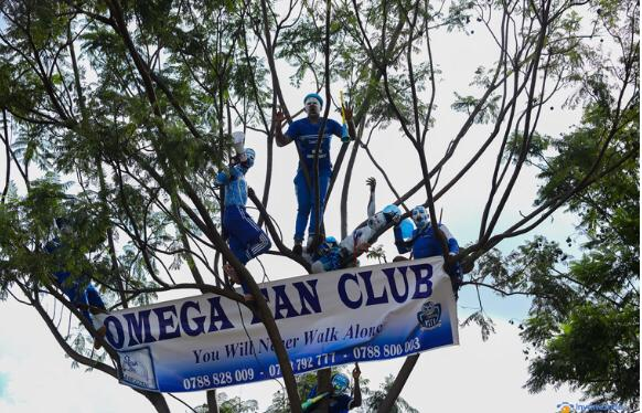 Ku kibuga kitarimo abafana, Rayon Sports yanganyije na Gicumbi 1-1