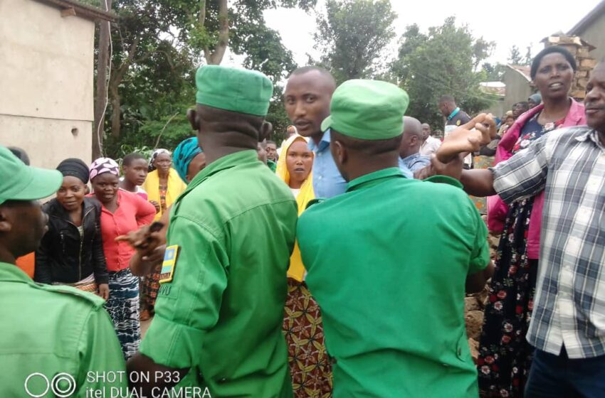 Rubavu: Gitifu w'Akagari n'abaturage bateye amabuye Gitifu w'Umurenge