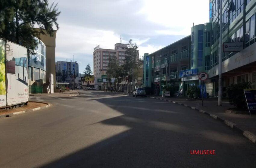Urugendo muri Kigali n'amaguru' kuva saa 14h-17h00 – AMAFOTO