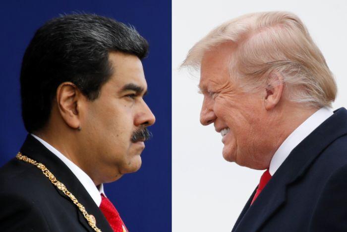 USA izaha miliyoni $15 uzatuma ita muri yombi Perezida wa Venezuela