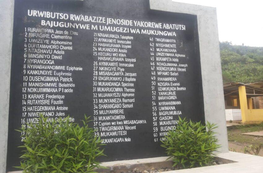 Umwihariko wa Jenoside yakorewe Abatutsi muri Gakenke, ikiganiro na Sa'adi Dunia/IBUKA