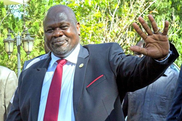 Sudan y'Epfo: Visi Perezida n'Umugore we barwaye Covid-19