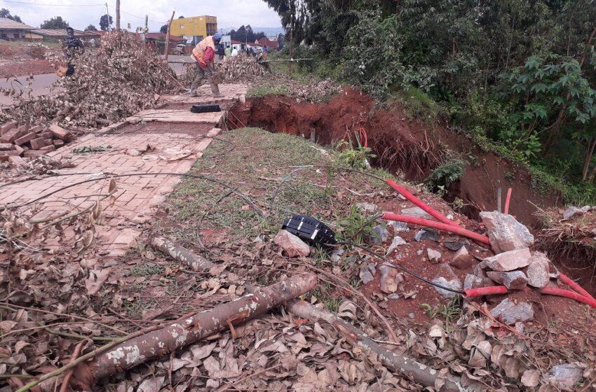Gicumbi: Bagaragaza impungenge ku iyangirika ry'umuhanda Base -Gicumbi