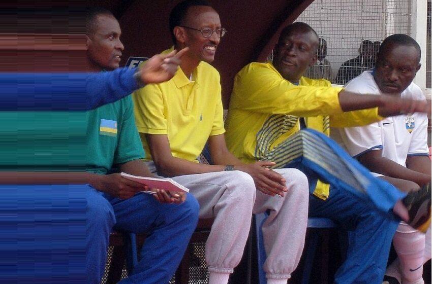 Byaba ari 50-50- P.Kagame ku gushyigikira Arsenal cyangwa PSG zahuye