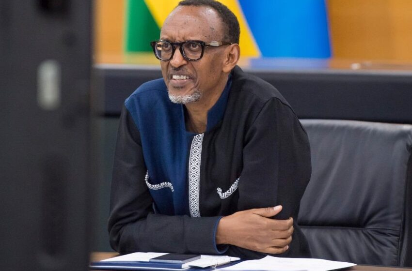 Sinagiye mu nzira yo 'kubohora igihugu' mparanira kuba Perezida – Kagame