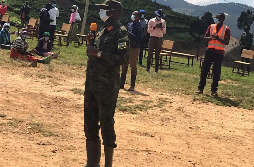 Umututu wacu tuwerekeje ku mwanzi witwa ubukene – Maj. Gen Kagame