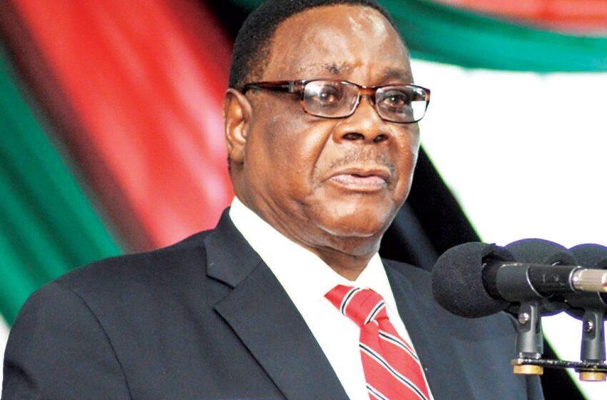 Perezida Mutharika ntaremera ko yatsinzwe n'utavuga rumwe na we
