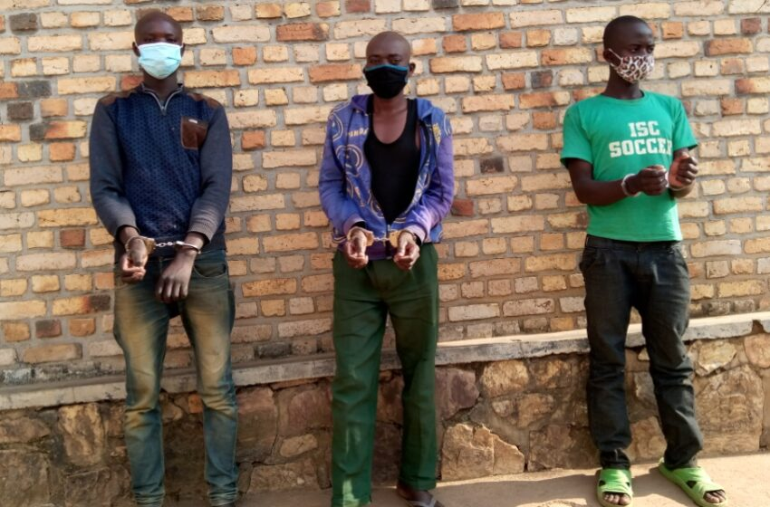Nyanza: Abagabo 3  bafashwe bakurikiranyweho kwica umwana w'imyaka 17