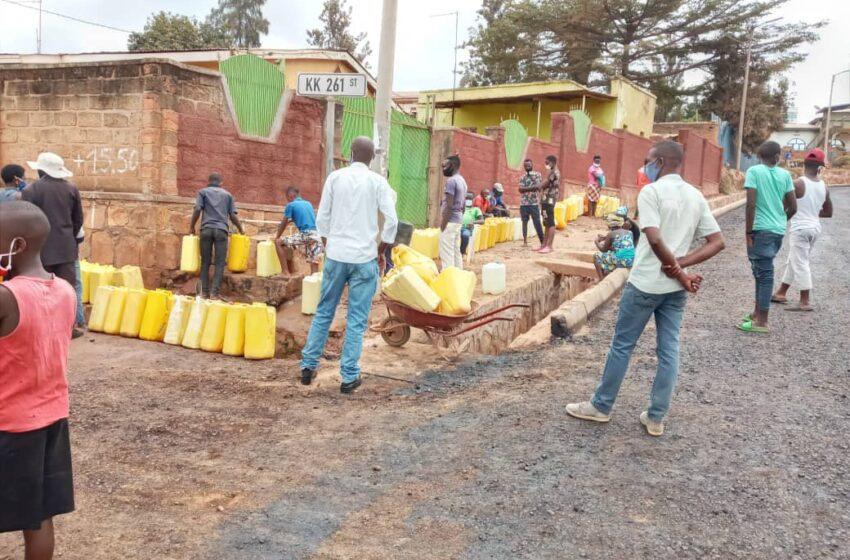 Kicukiro: Abo muri Nyakabanda ya Niboyi bamaze ukwezi nta mazi