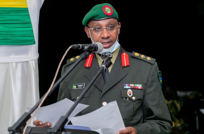 Col Jill Rutaremara wabaye Umuvugizi wa RDF mu bagiye mu kiruhuko cy'izabukuru