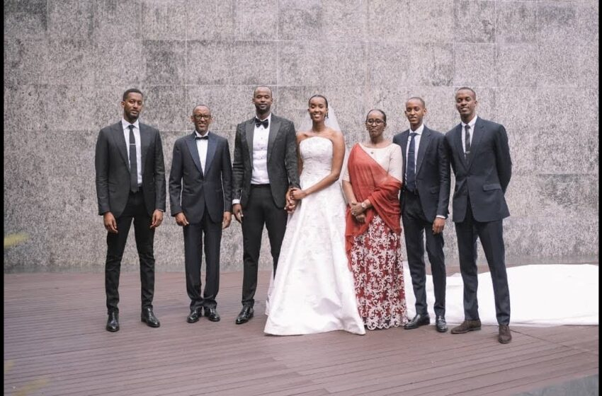 Umuryango wa Perezida Kagame WUZUKURUJE