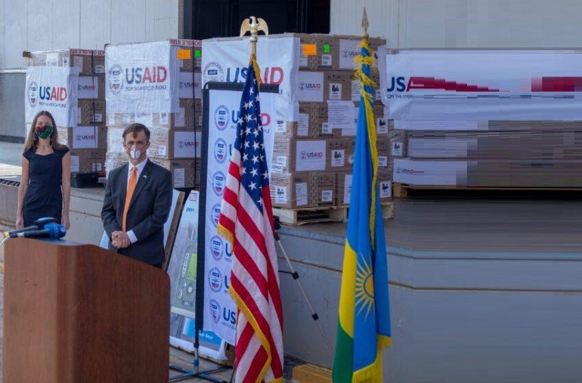 U Rwanda rwashimiye Trump ku mashini 100 zongera umwuka USA yaruhaye