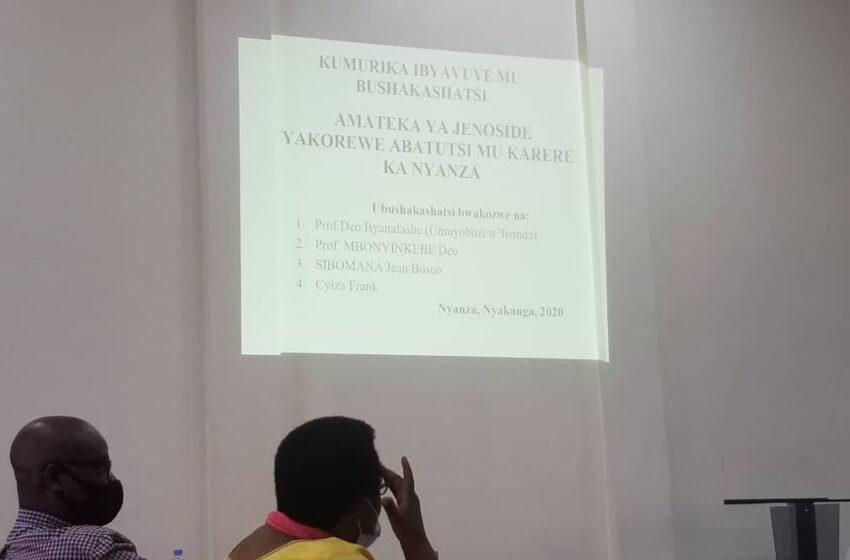 Nyanza: Intiti zabamurikiye ubushakashatsi basanga ntibwuzuye