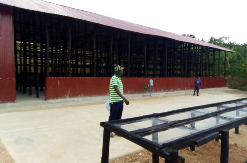 Nyanza: Abahinzi biteze impinduka ku bwanikiro n'ubuhunikiro bwa Miliyoni 290Frw