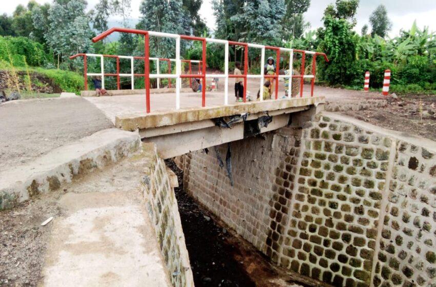 Musanze-Burera: Ikiraro gihuza utu Turere barashima ko cyubatswe