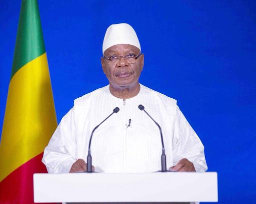 Perezida wa Mali yavugiye kuri Televiziyo ko 'nta yandi mahitamo avuye ku Butegetsi'
