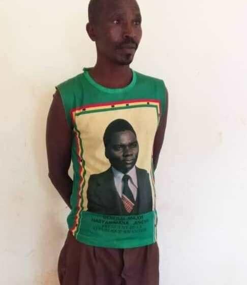 Kwambara umwenda uriho ifoto ya HABYARIMANA nta cyaha kirimo!