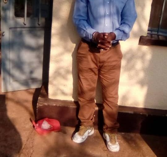 Nyanza: Umuyobozi w'Umudugudu yafatanywe inzoga yitwa 'igikwangari' ahita yegura