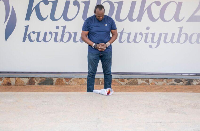 "Jeff Koinange wasuye Urwibutso ati ""namwe muzaze murebe ibyo nabonye"""