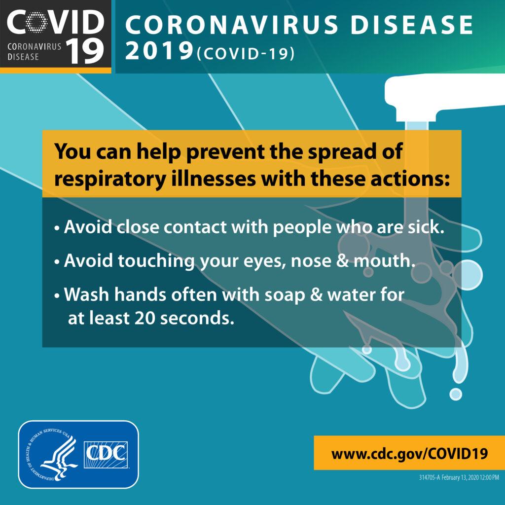 preventing coronavirus
