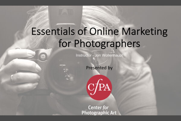 Marketing Photography Online: Enhance and Extend Your Online Presence