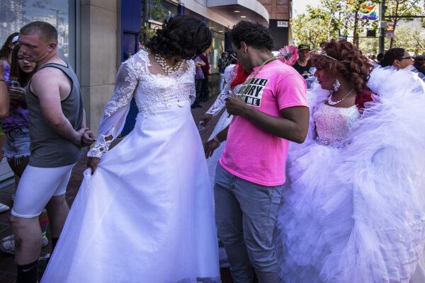 Sidewalk Brides