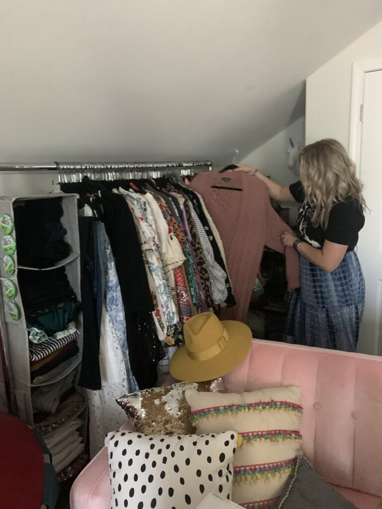Savannah Blogger, Being Mrs. Fowler, 6 Projects to do while you are home, home update, closet room