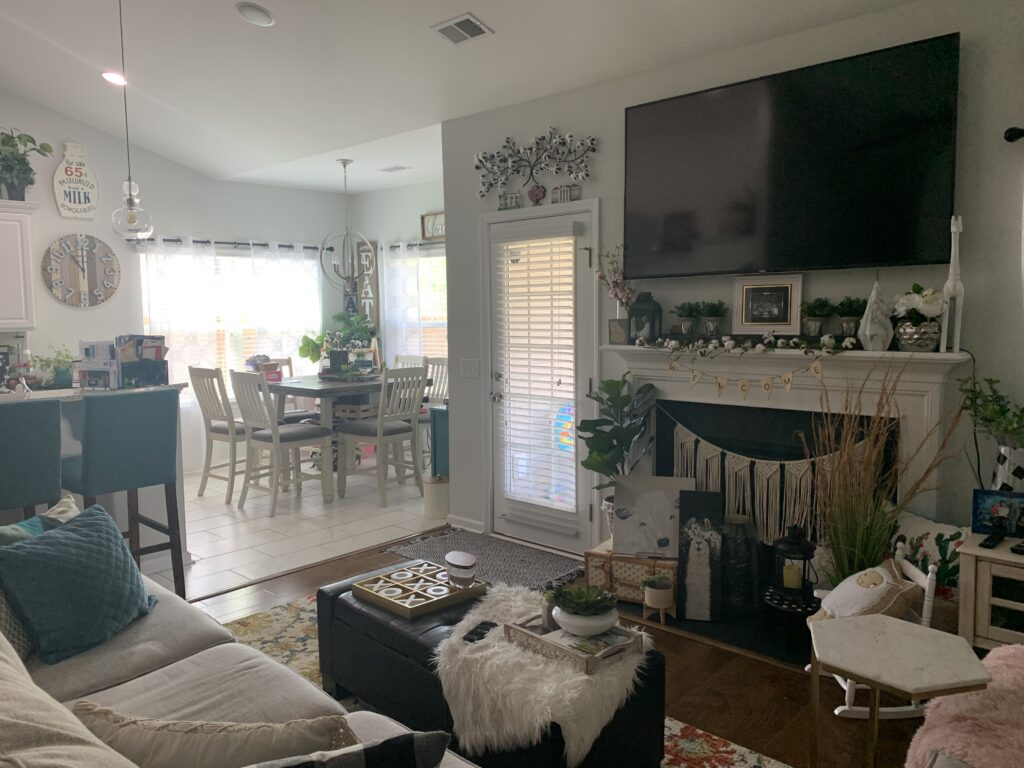 Being Mrs. Fowler, Making a House a Home, Boho Farmhouse Decor Ideas,  Living Room