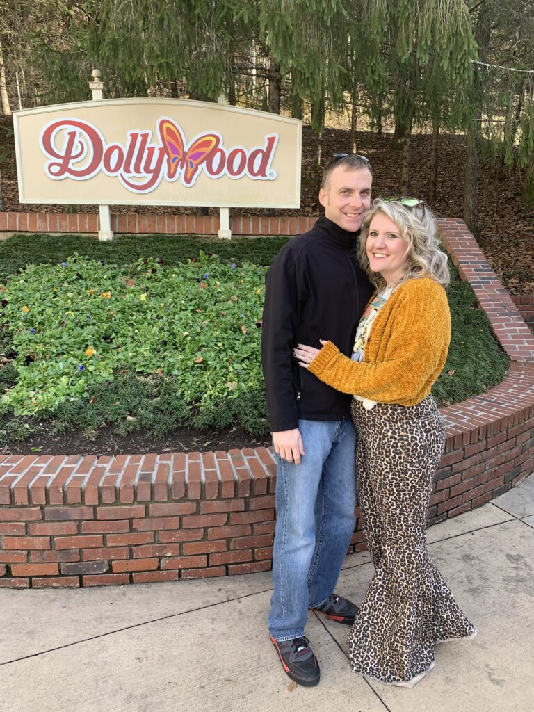 Anniversary Trip Dollywood Tennessee