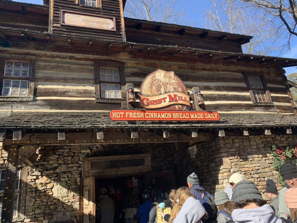 Anniversary Trip Dollywood Tennessee Grist Mill Cinnamon Bread