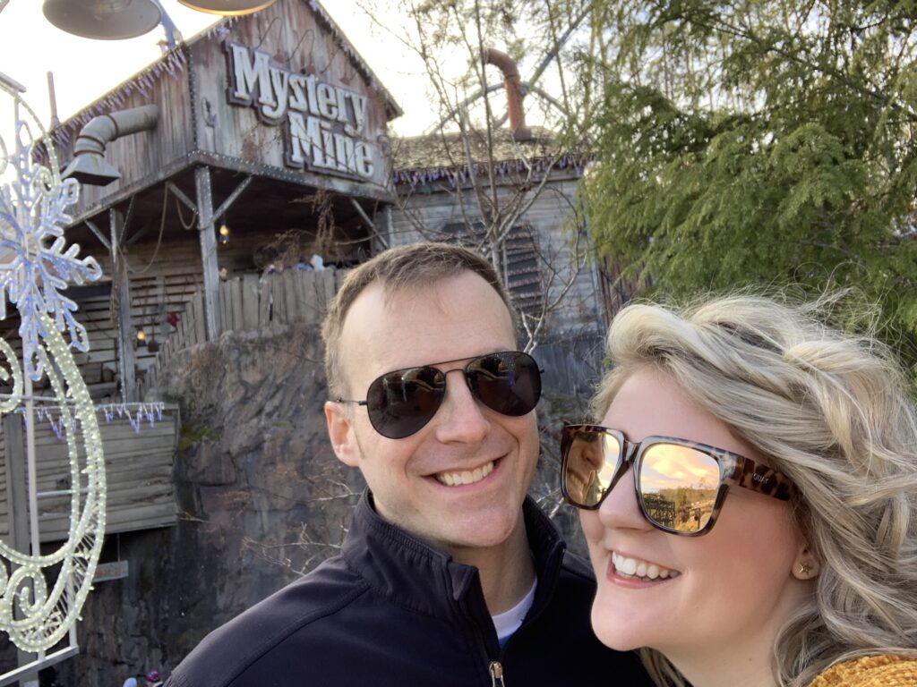 Anniversary Trip Dollywood Tennessee Mystery Mine