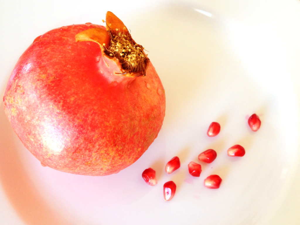 A pomegranate. Photo © Ben Young Landis.