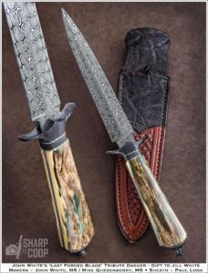 John White Tribute Dagger