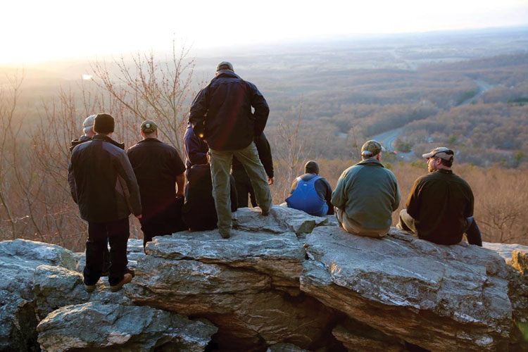 PATHH groups often hike to Bears Den to simply enjoy nature and gain perspective.