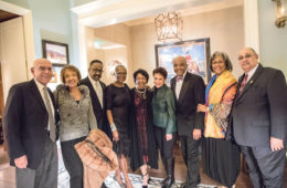 Jim and Sammie Parrish, Gerald and Sheila Bruce, Betty Crutcher, Sheila Johnson, Ronald Crutcher and Reesa and Charles Reynolds.
